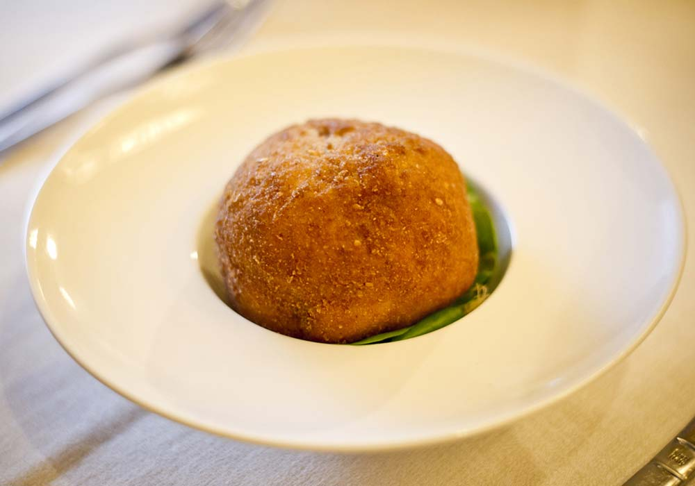 One of the most popular Sicilian snacks, the arancina