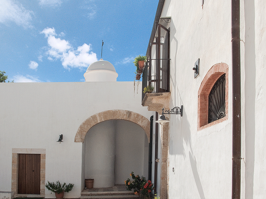 The small tower in the masseria