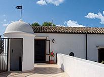 Appartamento del Barone in het kustplaatsje Balestrate