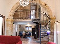 Vakantiewoning Casa nell'antico baglio in het kustplaatsje Balestrate