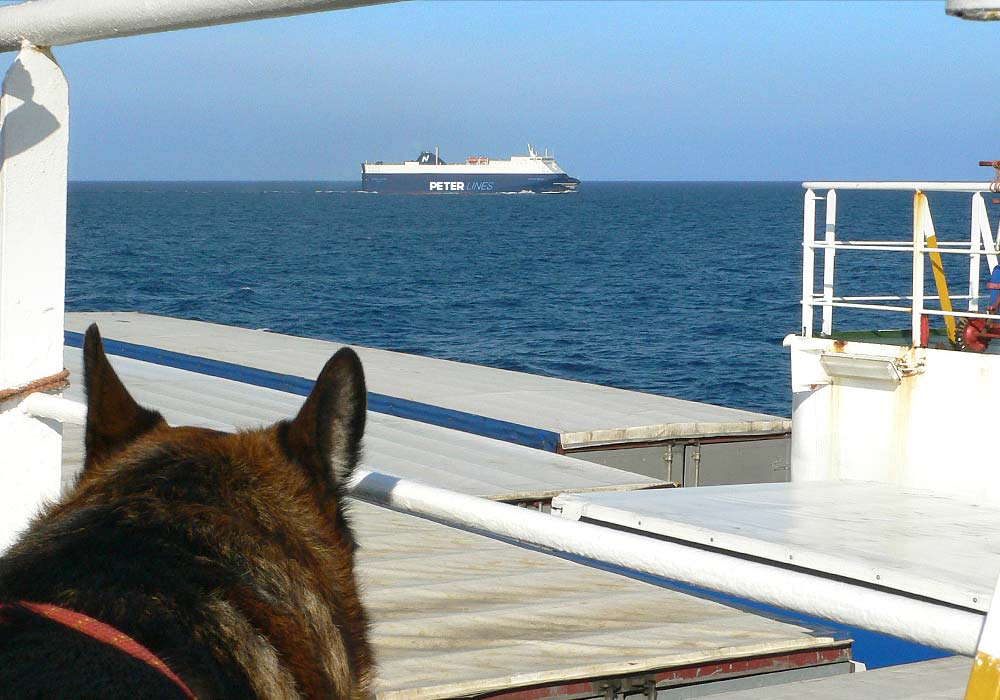 A ferry to Sicily