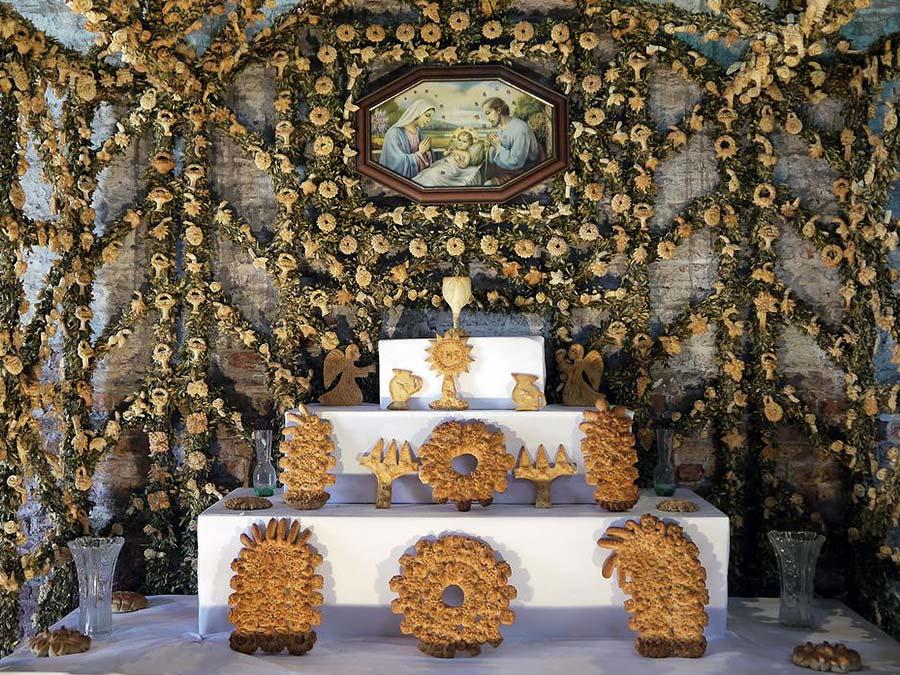 Een altare di San Giuseppe