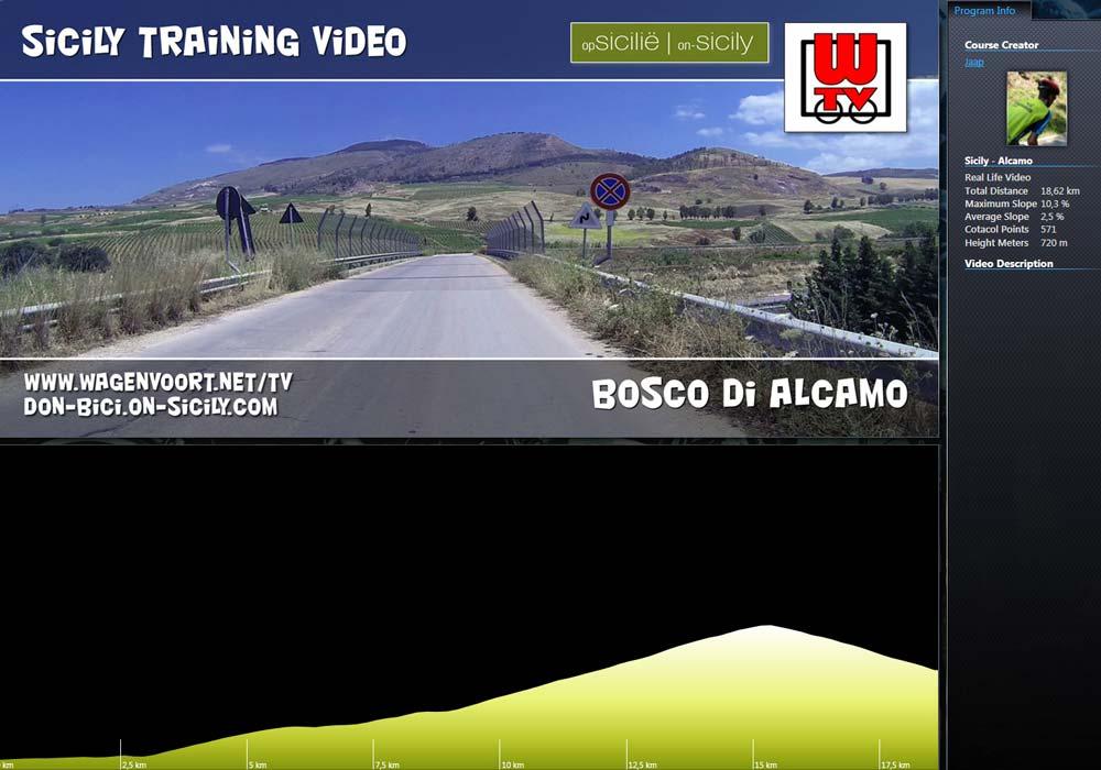 RLV - Tocht naar de Bosco d'Alcamo op de Monte Bonifato