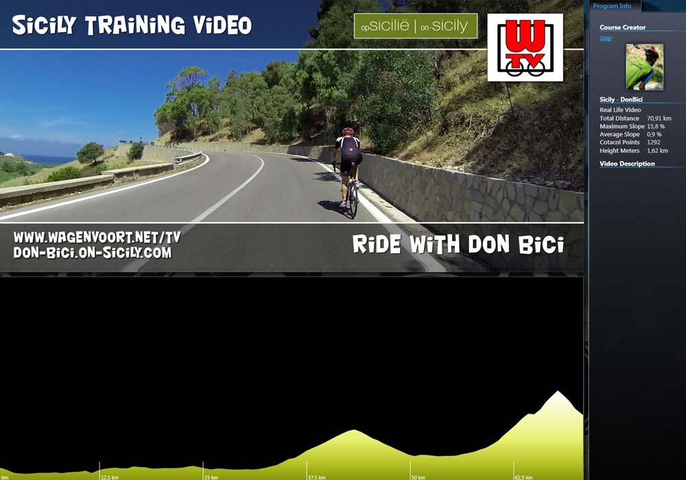 RLV - Maak een tocht met fietsgids Don Bici