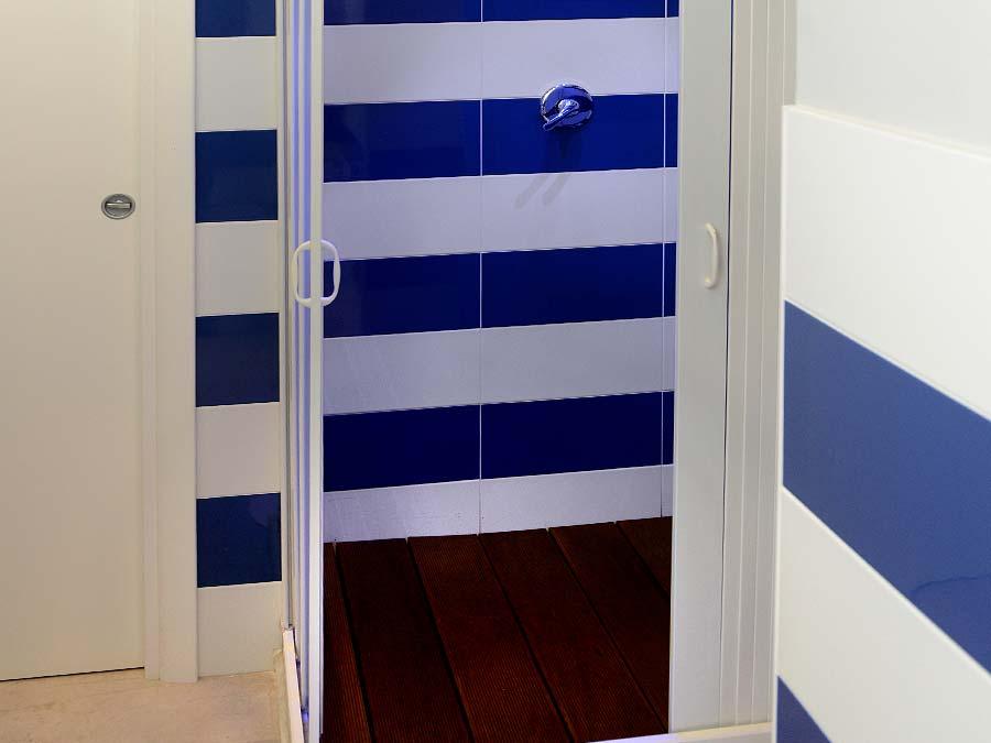 The bathroom of Appartamento Vinigna