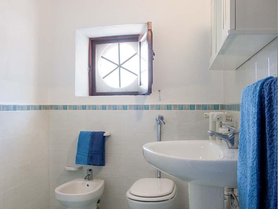 The bathroom of Appartamento del Barone