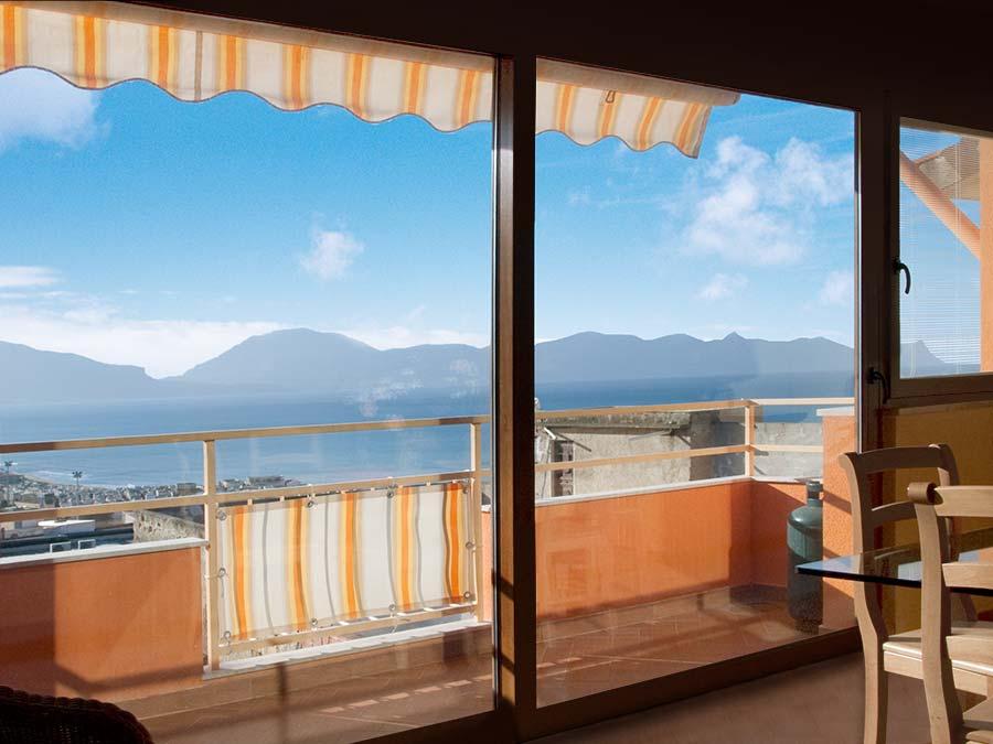 The view from Appartamento Mandarino