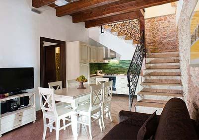 The living room of Appartamento Verdello