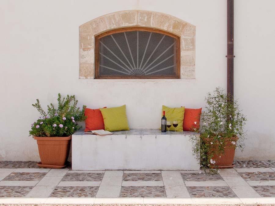 Near the entrance of Casa del Monsù